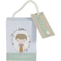 Little Dutch Knuffelpop Jim - 10 cm
