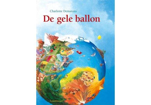 Book The yellow balloon - cardboard book