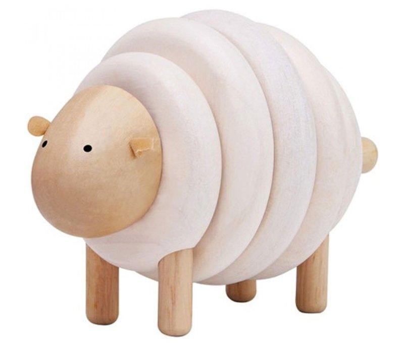 Planen Sie Spielzeug, das Schafe bastelt