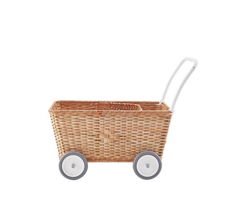 Olli Ella Puppenwagen Strolley Natural