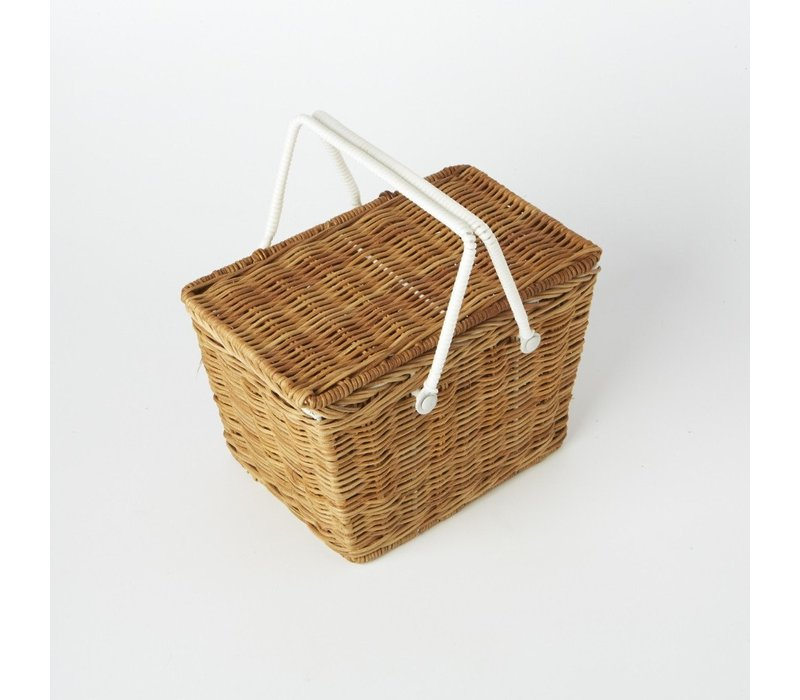 Olli Ella Picknickkorb Piki Basket Natural