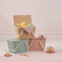 Olli Ella picnic basket Piki Basket Straw