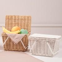 Olli Ella Picknickkorb Piki Basket Straw