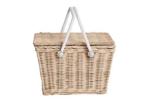 Olli Ella picknickmand Piki Basket Straw