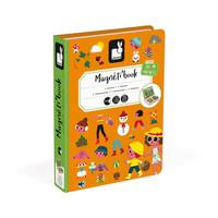 Janod Magnetbuch 4 Jahreszeiten