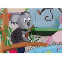 Janod Voelpuzzel - een dag in de dierentuin 20st