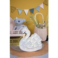 Little Lights lamp Swan Lake Flower White