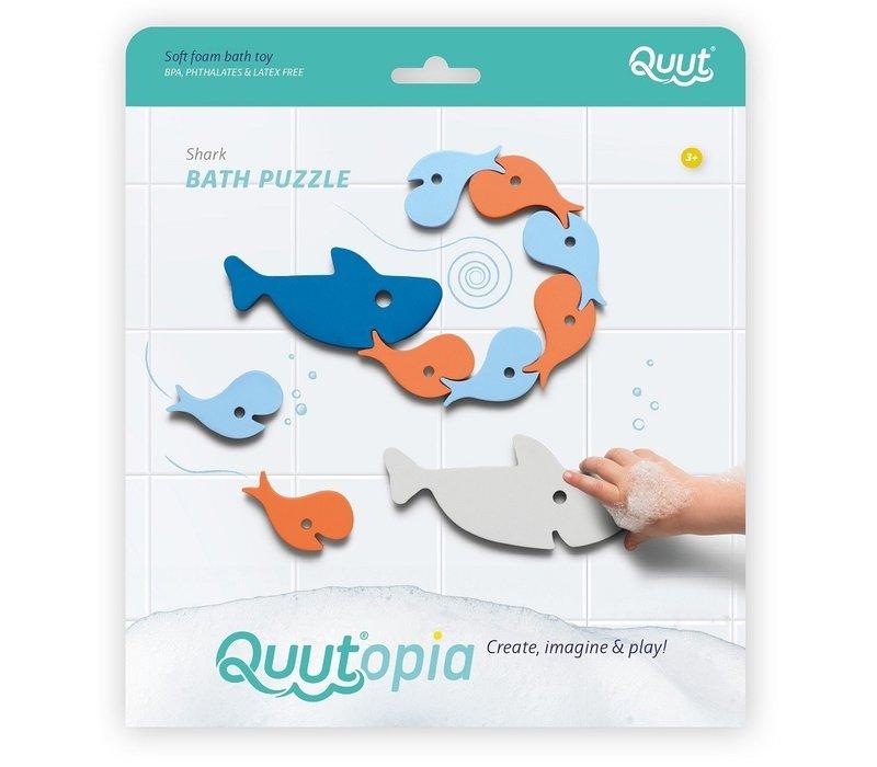Quut Quutopia Shark Bade Puzzle