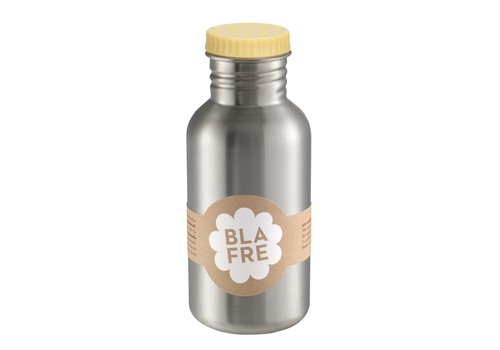 Blafre stainless steel bottle light yellow 500ml
