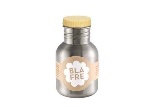 Blafre stainless steel bottle light yellow 300ml