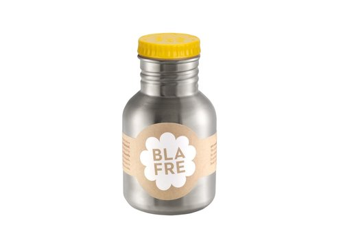 Blafre Stainless steel bottle yellow 300ml