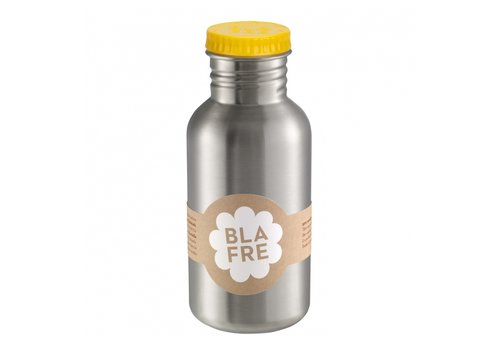 Blafre stainless steel bottle yellow 500ml