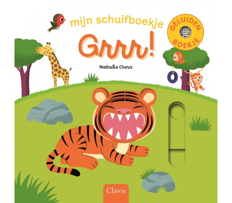 Book my slider book: Grrr! (with sounds)