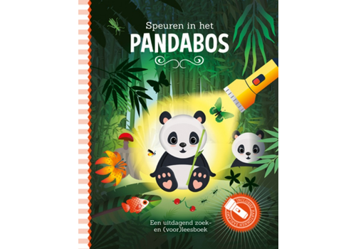 Book Tracking in the panda forest (flashlight book)