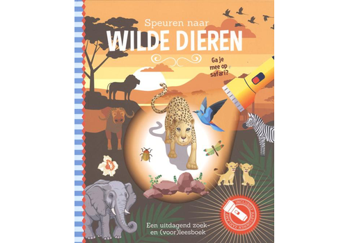 Book Searching for wild animals (flashlight book)