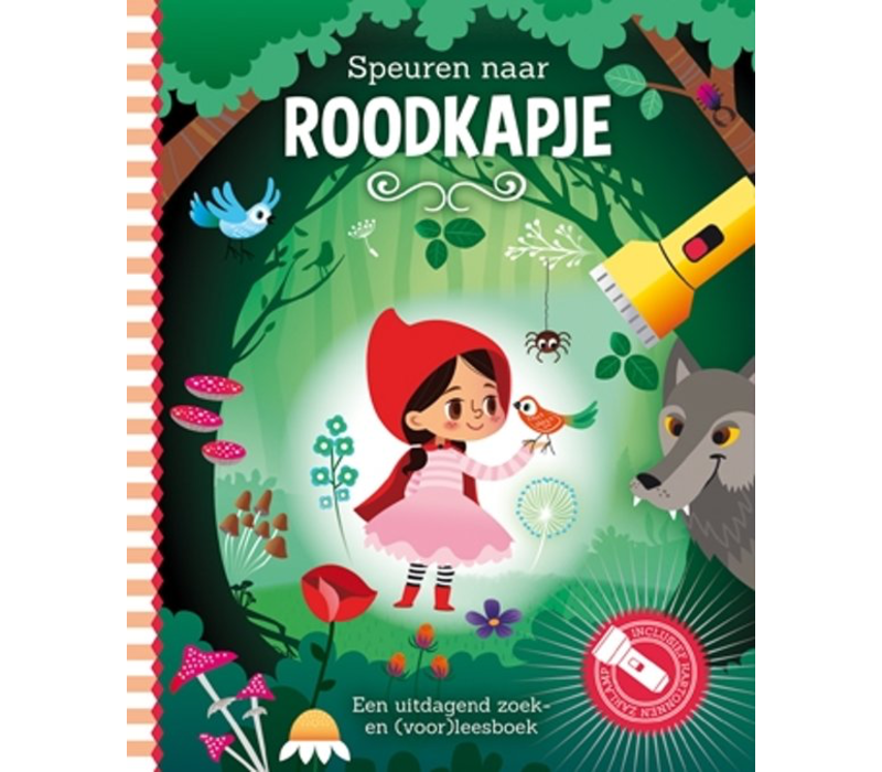 Book Tracking to Little Red Riding Hood (flashlight book)
