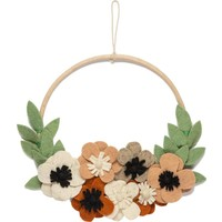 KidsDepot Flower hoop flowers wall hanger