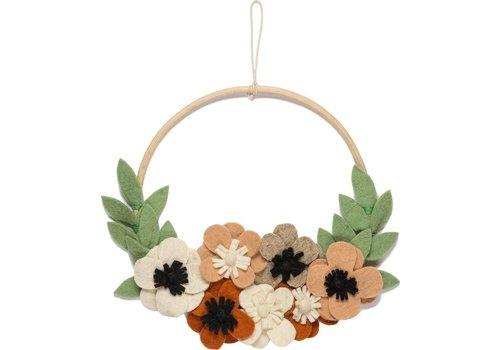 KidsDepot Flower Hoop Blumen Wandhalter