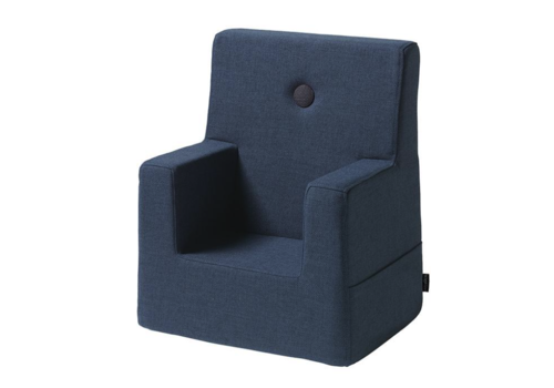 by KlipKlap Kids Chair donkerblauw