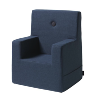 by KlipKlap Kids Chair XL donkerblauw