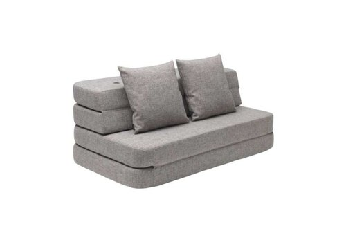 by KlipKlap 3 fold XL sofa light gray