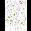 Lilipinso wall sticker Buttercups and Chamomile Flowers