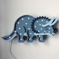 Little Lights Lampe Triceratops / Jurassic Navy