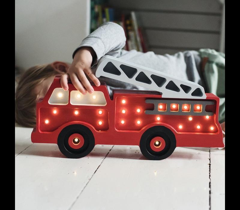 Kleine Lichter Lampe Feuerwehrauto