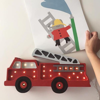 Little Lights lamp Fire Truck
