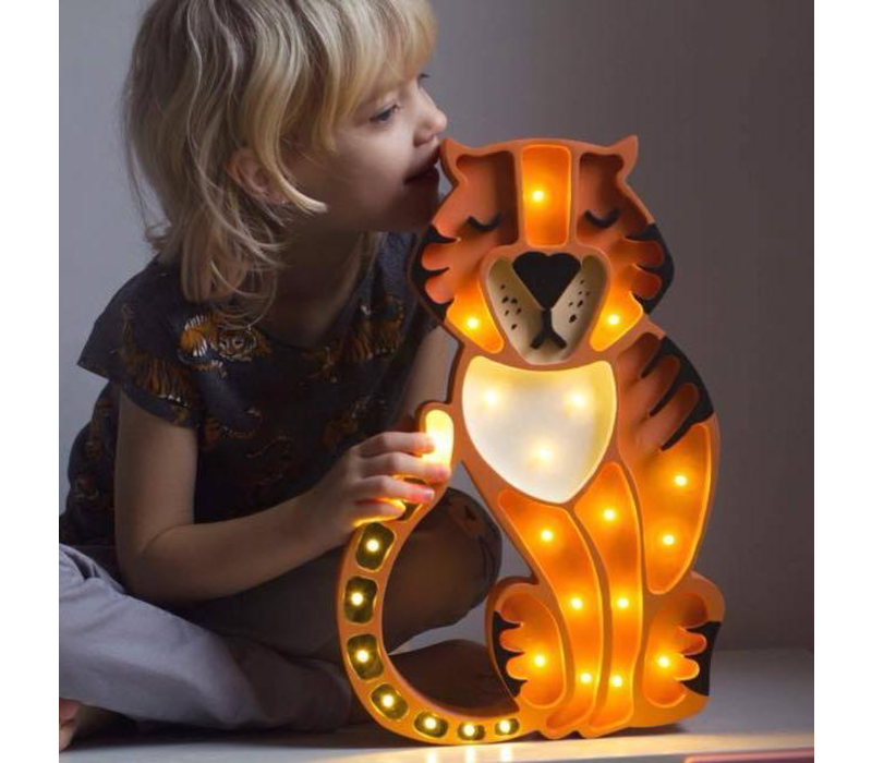 Little Lights lamp Tiger Wild Orange