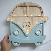 Little Lights lamp From Retro Blue Wood