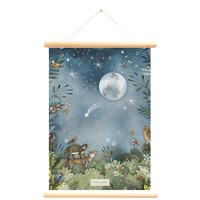Little & Pure Schulteller Im Mondschein 50 x 70