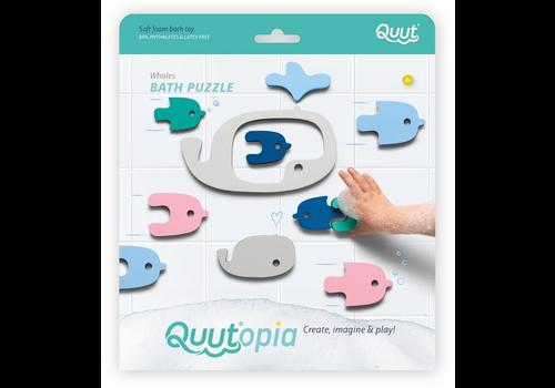 Quut Quutopia Whale bath puzzle