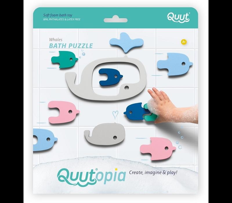 Quut Quutopia Whale badpuzzel