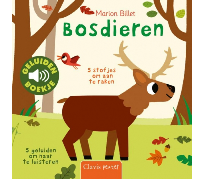 Book Forest animals (sound book)
