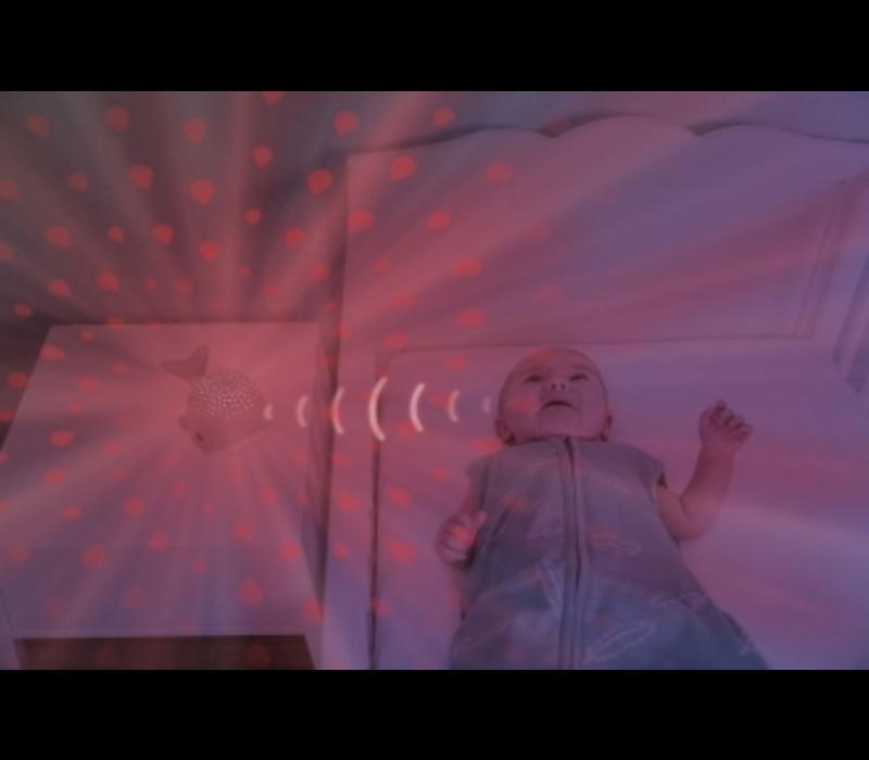 Zazu Wally Licht projector - grijs