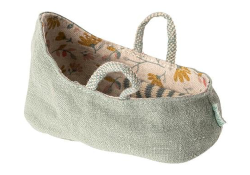 Maileg carrycot Dusty Green