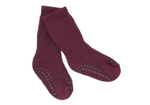 GoBabyGo anti-slip socks plum