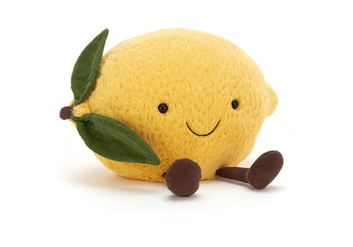 Jellycat knuffel Amuseable lemon small