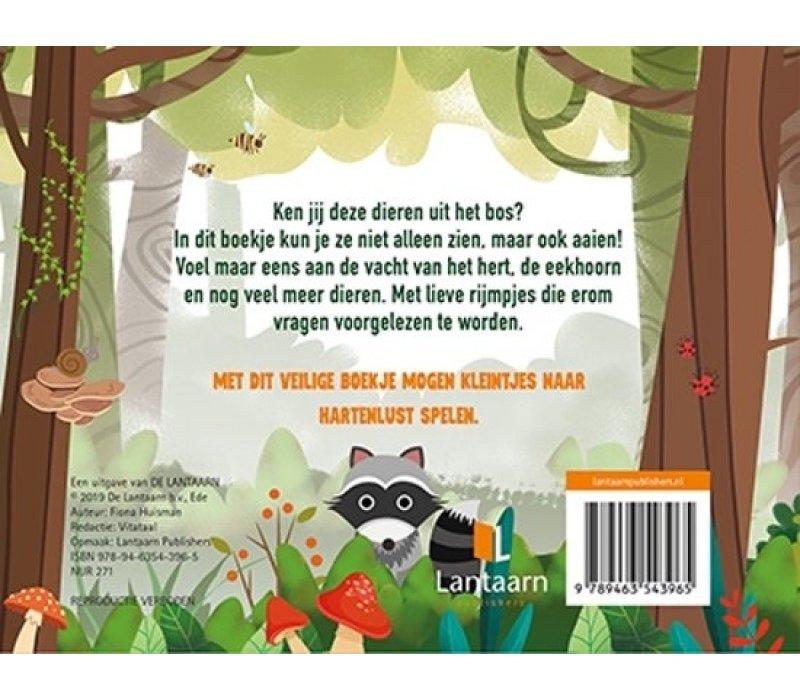 Boek Kijk en voel - Bosdieren