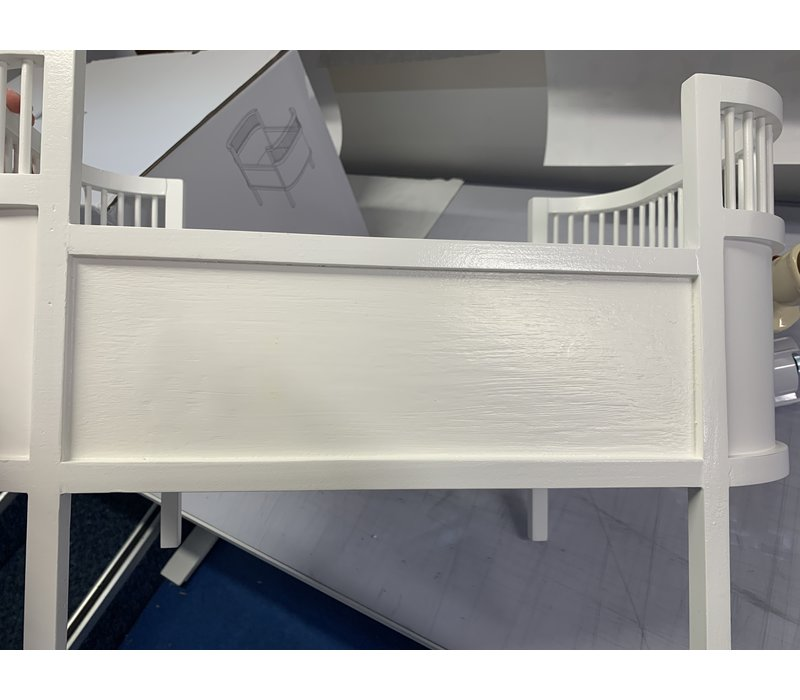 Smallstuff doll bed white - Second chance