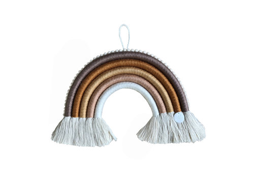 Cotton Design big chuncky regenboog hanger Marrakech