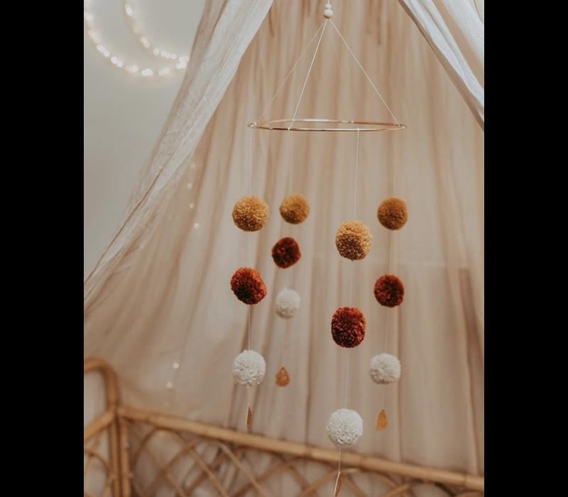 Cotton Design Mobile Pompom