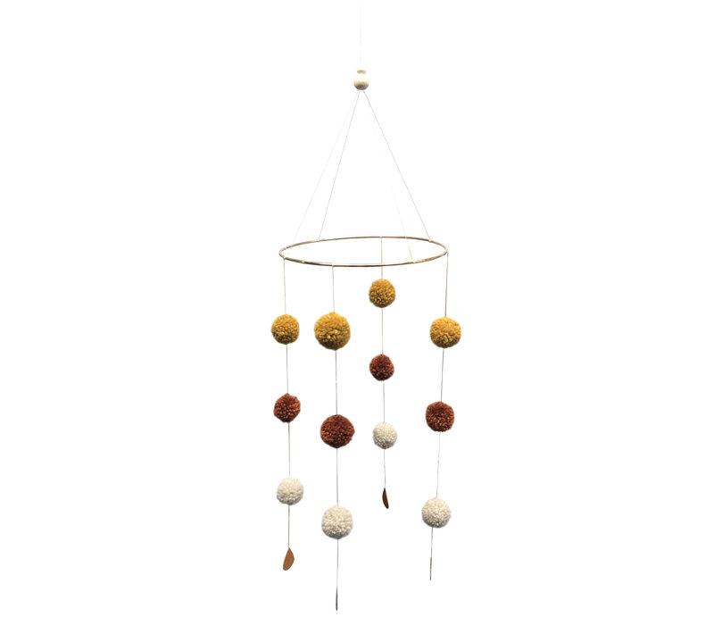 Mobiler Pompon von Cotton Design