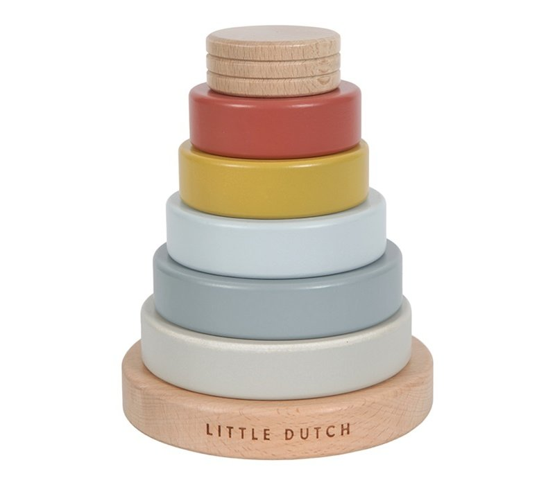 Little Dutch Stapeltoren Pure & Nature