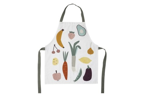 Bloomingville Mini children's apron fruits & vegetables
