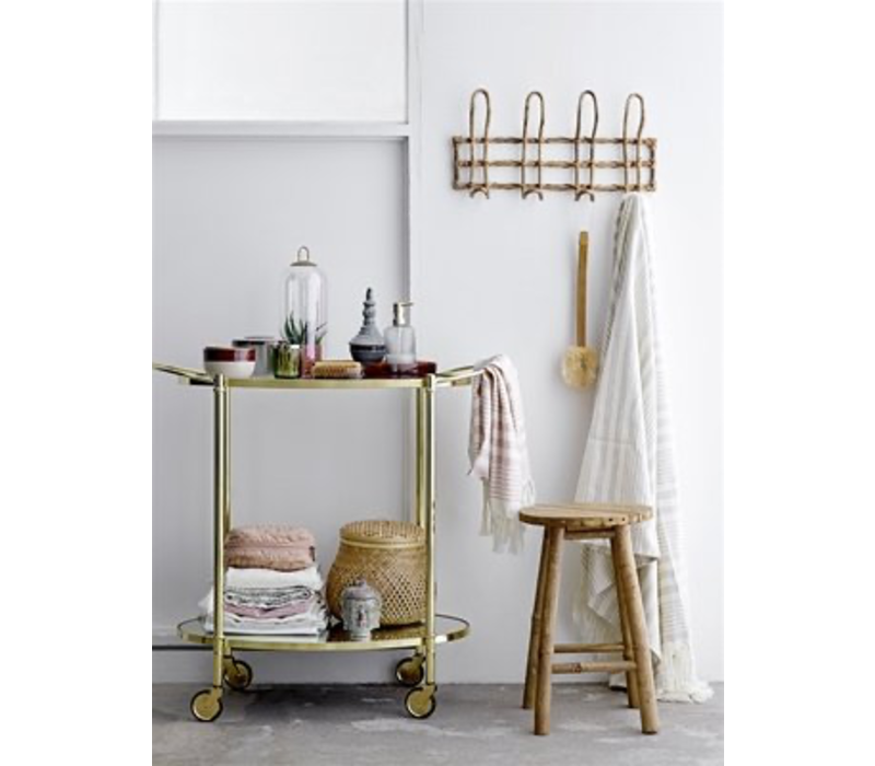 Bloomingville Mini hat rack rattan