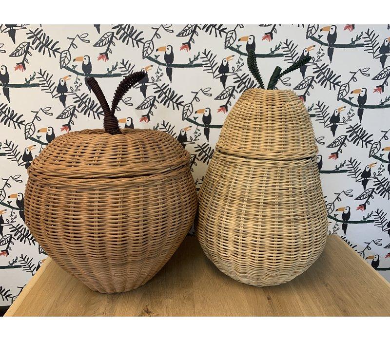 Ferm Living storage basket Pear