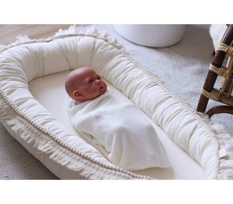 Cotton & Sweets baby Nest Boho Vanilla