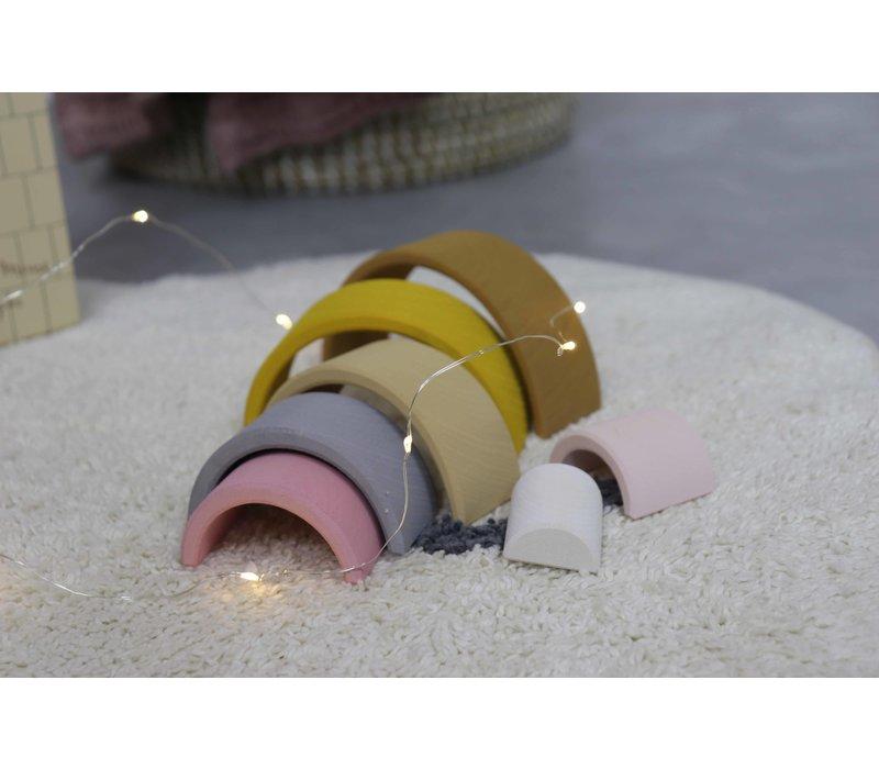 Raduga Grez regenboog stapelaar sand small